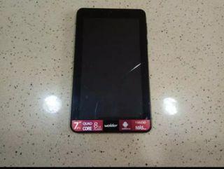 Tablet para piezas 1