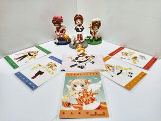 Card Captor Sakura, figuritas y otros.