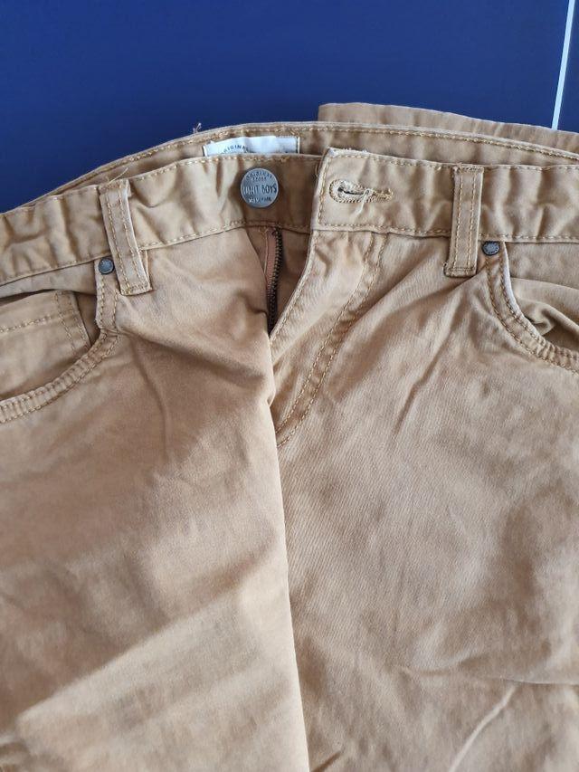 Pantalones beige