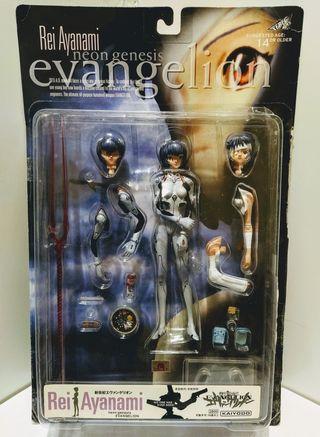 Rei Ayanami Neongenesis Evangelion (KAIYODO)