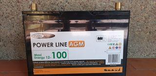 Bateria AGM 100Ah