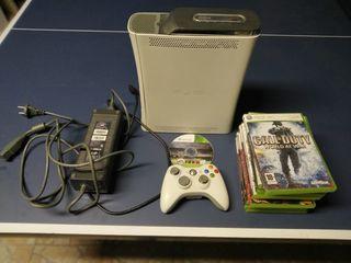 Xbox 360 consola con juegos