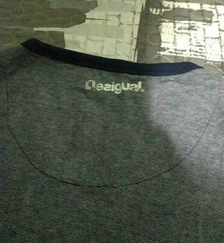 camiseta desigual talla L hombre Manga larga
