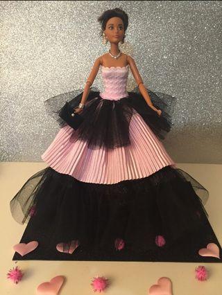 Precioso vestido muñeca barbie o similar