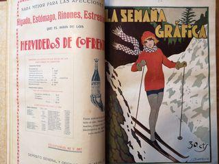 Año 1928 Colección antigua encuadernada revistas