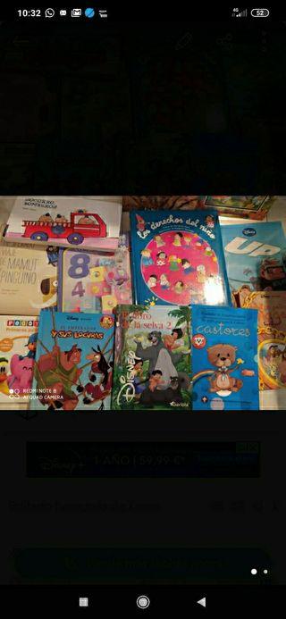 Lote libros infantiles niños