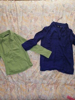 camisas mujer 2×10€
