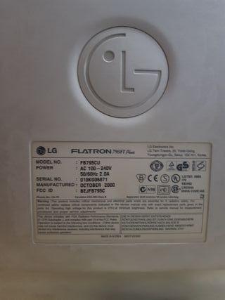 "Monitor LG Flatron 795FT Plus 17"" PC"