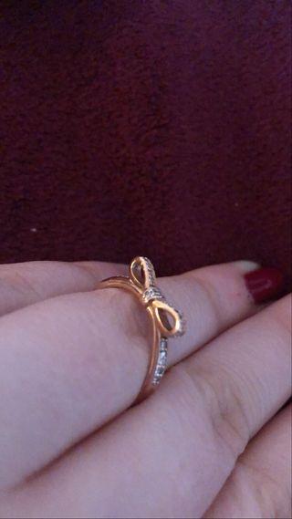 Anillo oro rosa Pandora