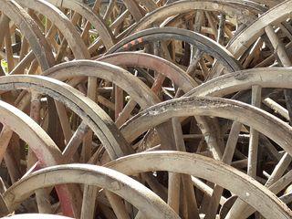 ruedas para decorar