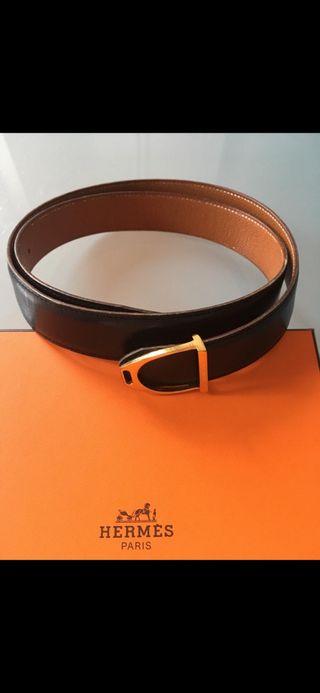 Cinturón Hermes Negro