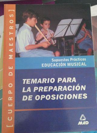 oposiciones musica
