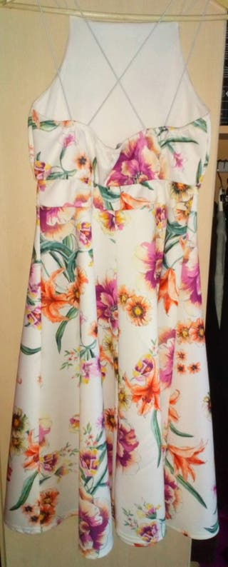 womans floral dress size 12