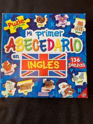 Puzle Mi primer Abecedario en Inglés