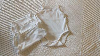 Pack 3 bodies algodón orgánico