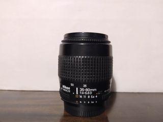 Objetivo nikon AF 35-80 mm 1:4-5.6 D
