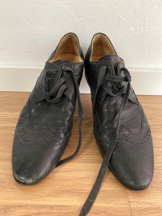 Zapato italiano de piel