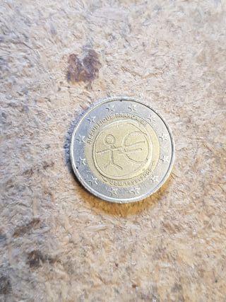 moneda dos euros conmemorativa