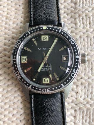 Reloj Skin Diver suizo Oriental vintage