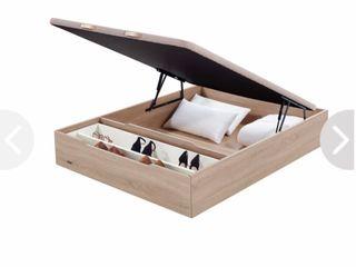 Canapé madera Flex y colchón