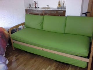 Vendo sofá cama v