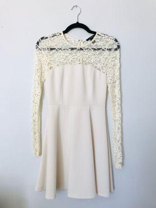 Vestido blanco evento especial