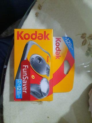 camara Kodak fotos analogica