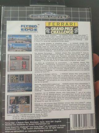 juego Ferrari mega Drive completo