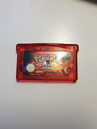 Pokémon Edición Rubí Game Boy Advance GBA