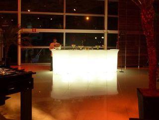 Barras de bar iluminas nuevas