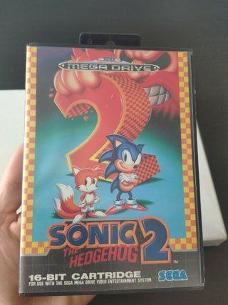 juego Sonic 2 completo de sega mega Drive
