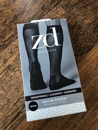 Calcetines media altos Zero Defects