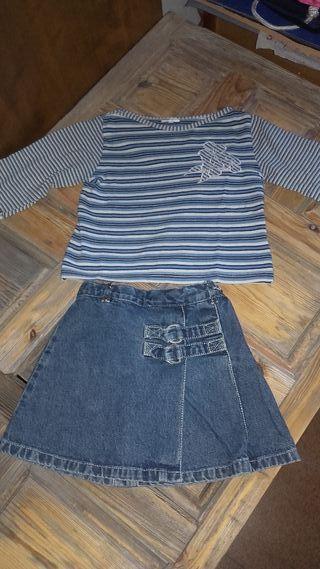 Conjuntos talla4años y camisa