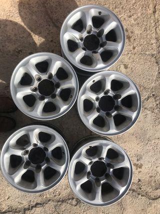 Llantas aluminio 15' 4x4