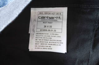 Jeans Carhartt negros sexis ajustados NUEVOS