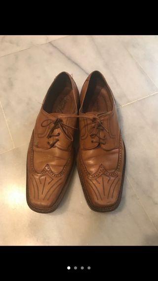 Zapatos de hombre de piel