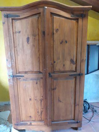 armario mueble rústico mejicano