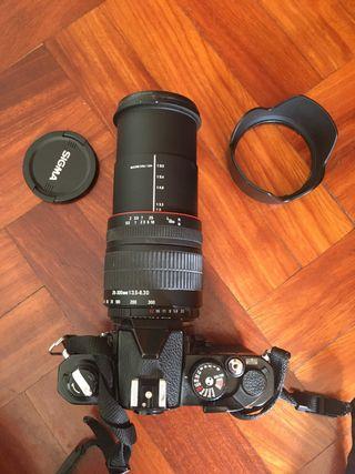 Objetivo Sigma 28 - 300 Nikon Zoom