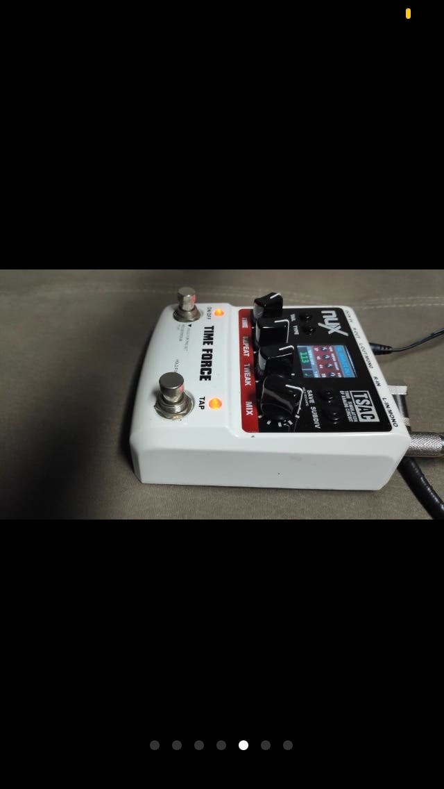 Nux time force Pedal delay looper