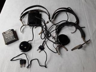 Auriculares operadora Vintage