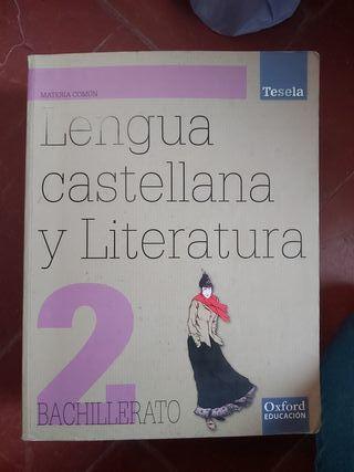 lengua y literatura 2 de bachillerato