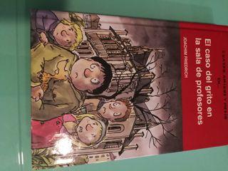 """Libro infantil """"El caso del grito en la sala de pr"""
