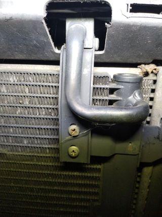 Tubos y radiador del aire acondicionado golf mk3