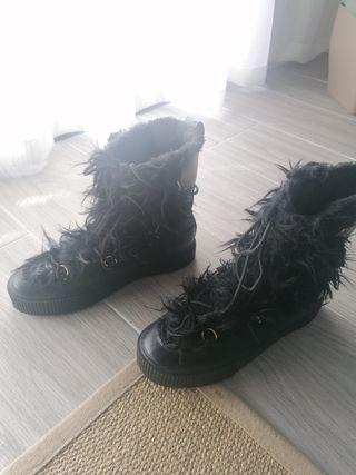 botas pelo H&M