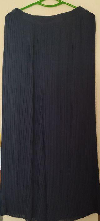 falda pantalón plisada