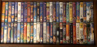 Peliculas VHS Disney universal 20Fox