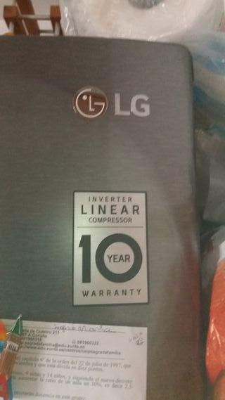 Nevera LG linear compressor