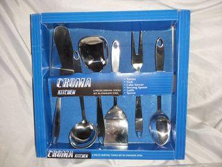 6 utensilios cocina acero inoxidable