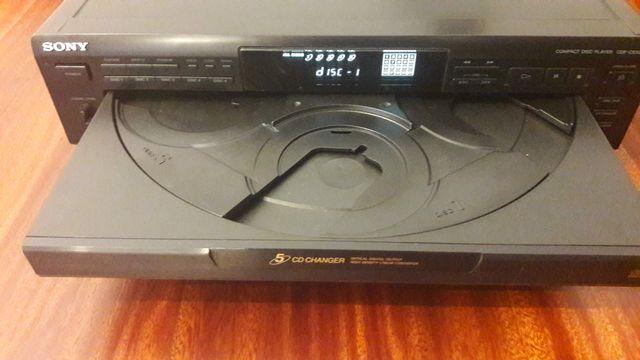 REPRODUCTOR CD SONY CDP-CE505 (múltiple)