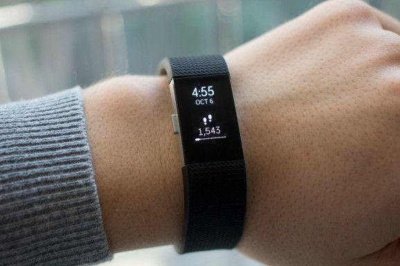 Fitbit Charge 2. Pulsera de Actividad Talla L